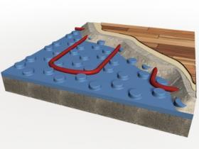 Le plancher chauffant for Plancher chauffant electrique